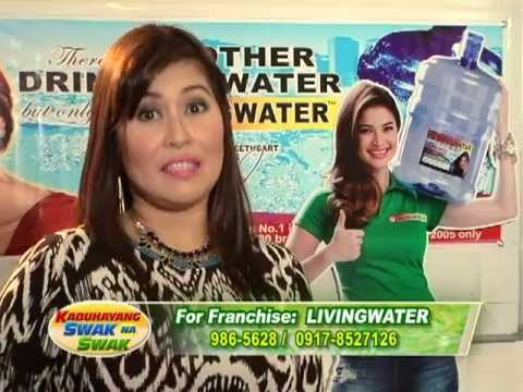 LIVINGWATER, the Philippines LARGEST Water Refilling Station Franchise Network