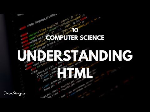 Understanding HTML | CBSE Class 10th X Computer Science