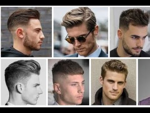 Mens hairstyles - top 10 new haircut for men 2018/2019 ! Men's haircut trend