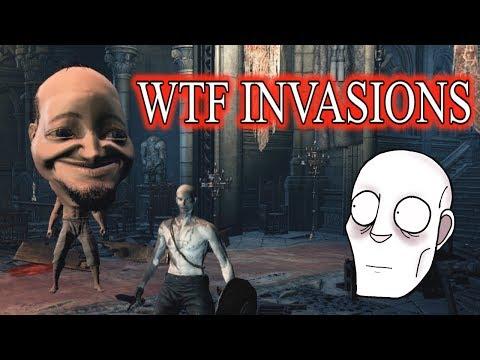 Reddit wtf - WTF INVASIONS 13  Dark Souls 3