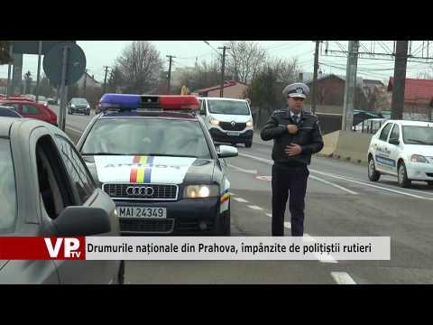 Drumurile naționale din Prahova, împânzite de polițiștii rutieri