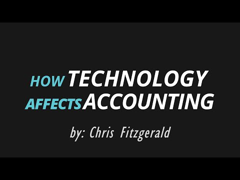 How Technology Affects Accounting