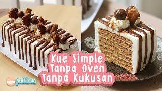 Video MEMBUAT KUE TANPA OVEN TANPA KUKUSAN #1 | NO BAKE CAKE RECIPE MP3, 3GP, MP4, WEBM, AVI, FLV Januari 2019