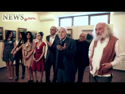 Exhibition of French-Armenian painters in Arame Art Gallery