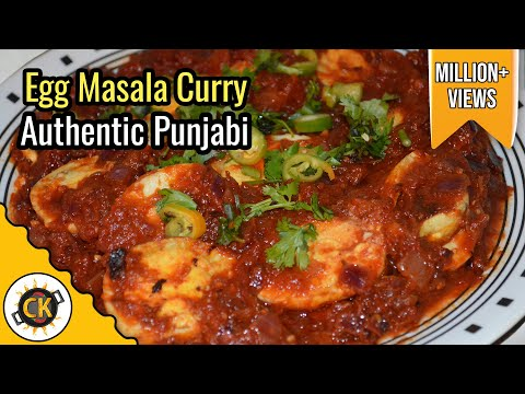 Egg Curry (Anda Curry) Authentic Punjabi Style Recipe by Chawlas-Kitchen.com Episode #102