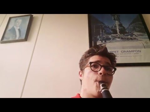 Édouard Lalo-Le roi d'Ys Ouverture clarinet solo (видео)