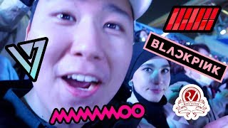 MY FIRST KPOP CONCERT (BLACKPINK, iKON, SEVENTEEN, RED VELVET, WANNA ONE, MAMAMOO and more!)