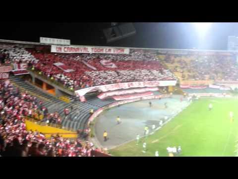 Salida Santa Fe Vs Estudiantes - La Guardia Albi Roja Sur - Independiente Santa Fe - Colombia - América del Sur
