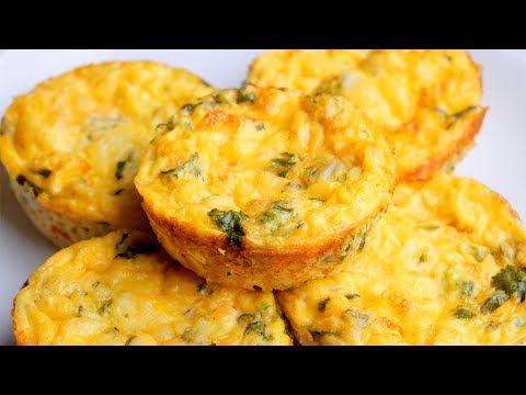 Easy Egg Muffin Recipe | Mini Vegetable Quiches Without The Crust