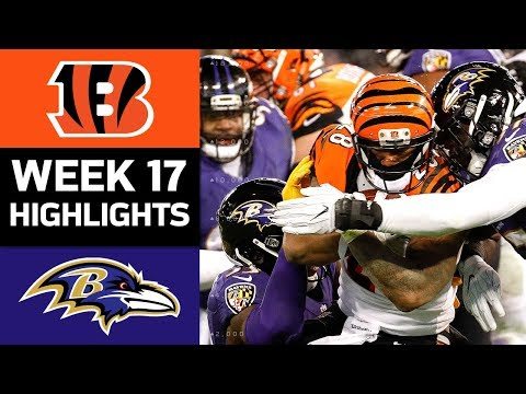 Video: Bengals vs. Ravens | NFL Week 17 Game Highlights