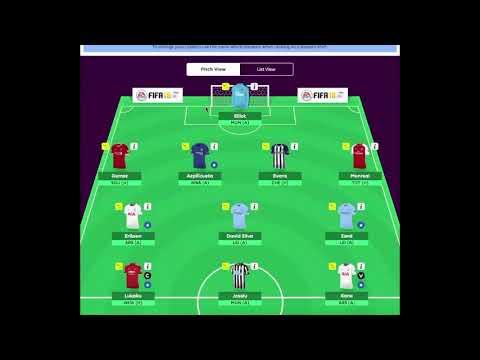 Fantasy Premier League Game week 12