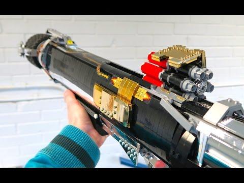 用樂高積木組合出法拉的火箭砲