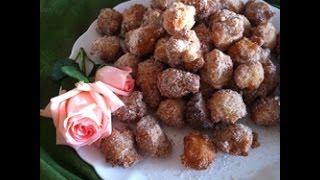 Videoricetta: donuts con zucchero e cannella