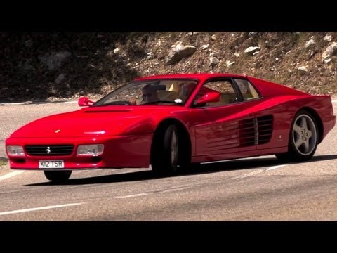 0 Strakes Alive: Chris Harris Takes His Ferrari 512 TR for a Bread Run [Video]
