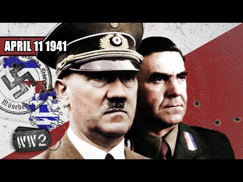 Nazis in the Balkans - The Invasion of Greece and Yugoslavia - WW2 - 085 - April 11, 1941