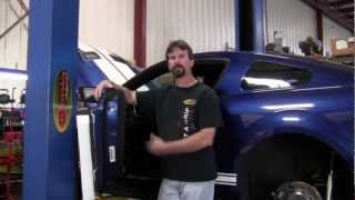 Josh Barnett's GT500 SEMA Build 2012 - Centerforce Clutch Install