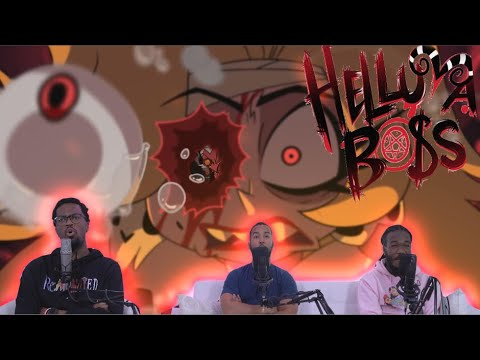 HELLUVA BOSS MURDER FAMILY S1: EPISODE 1 REACTION   THANK YOU VIVZIEPOP!!