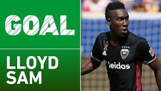 GOAL: Lloyd Sam turns and scores a beauty! by Major League Soccer