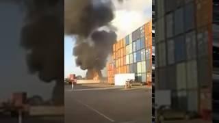 فيديو.. انفجارات قوية تهز مدينة المحمدية وسيارات الإطفاء تتدخل