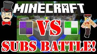 Minecraft Clay Soldiers - SUBS Battle Fort Bet Match #5! PLUS Enter Your Army!
