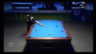 WPA World 9-Ball Championship 2012 Final Darren Appleton Vs. Lee He Wen