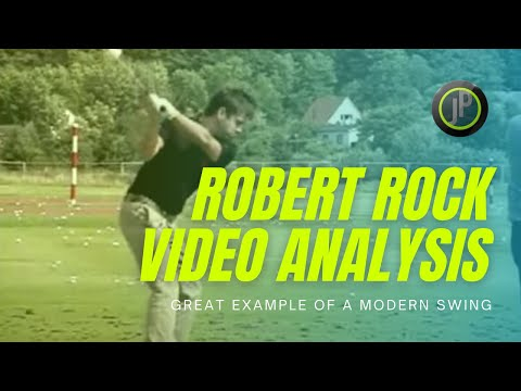 Robert Rock Video Analysis | Modern Golf Swing