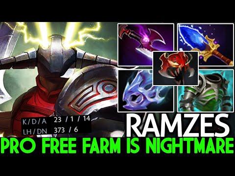 RAMZES [Sven] When Pro Carry Free Farming is Nightmare Dota 2