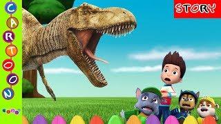 Download Lagu Paw Patrol Disturbed Dinosaurs T-Rex Movie Nursery Rhymes Finger Family ◕‿◕ KidsF Mp3