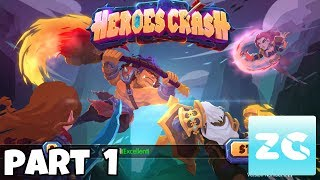 Heroes Crash: Deck Master Android IOS Walkthrough Part 1 Gameplay HDDownloadGoogle Play : https://play.google.com/store/apps/details?id=com.proficientcity.heroescrash&pageId=103517267935138003509App Store : Donate To Supporthttps://twitch.streamlabs.com/zruegerEquip your mighty heroes with the strongest cards and make them become invincible! Heroes Crash is a free card game that merges features from RPG, TCG (Trading Card Game) and RTS (Real Time Strategy) games. You can train and command a team of heroes in fast-paced combats while experiencing the thrill of casting different spells with magic cards. Join us and participate in intense 1v1 battles!Build your own deck-Build a customized deck using both Heroes and Magic Cards with unique skills. Upgrade each Hero and Magic Card to become stronger.Sort your deck-Take tactical control over your Heroes' position and the combination of Magic Cards. Choose the proper Magic Card to stop your enemy Heroes.Cast Spells and see their effects-Cast spells by simply sliding the cards on the screen. Play your cards in the correct order to cast powerful spells.Defeat every duelist-Duel against players in real-time and turn-based 1v1 battles where you will be matched up by strength. Enjoy your adventure with solo-play-Complete the campaign quests for awesome rewards. Face multiple bosses hiding in unknown dungeons for extra loot.Easy accessibility-Play in a simple and easy interface where everything is at your reach. Swipe your screen to navigate through the world map.