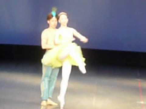 バレエ ローザンヌ バレエ、リハーサル 2012,8,12