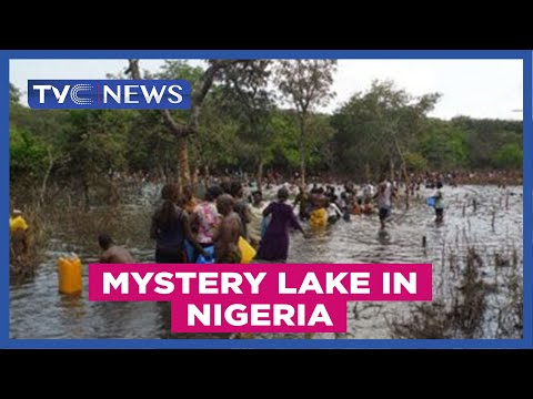 Lake - TVC's Carl ofonye reports on the mystery lake in the eastern part of Nigeria....