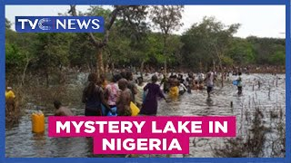 TVC News Carl Ofonye reports on the mystery lake in the eastern part of Nigeria....