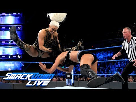 Lana vs. Billie Kay - Money in the Bank Qualifying Match: SmackDown LIVE, May 22, 2018 (видео)