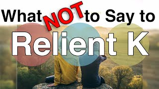 What NOT to Say to Relient K…