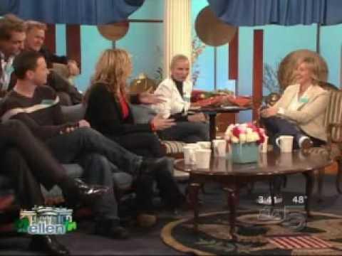 West Wing Cast on Ellen (pt 3)
