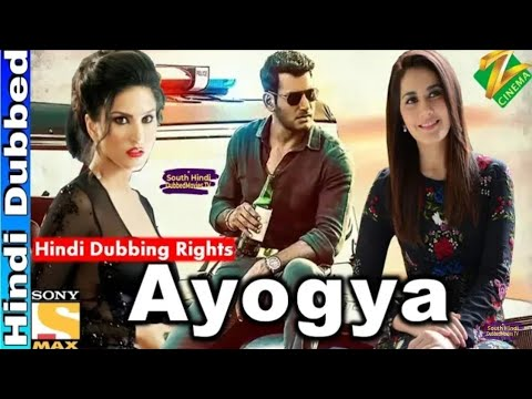 Ayogya Hindi Dubbed Movie 2019 | Hindi Dubbing Rights | Vishal, Raashi Khanna |