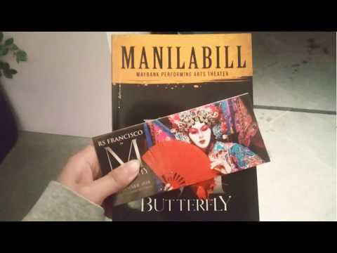 M. Butterfly | The Chrysalis photo exhibit | Maybank Performing Arts Theater