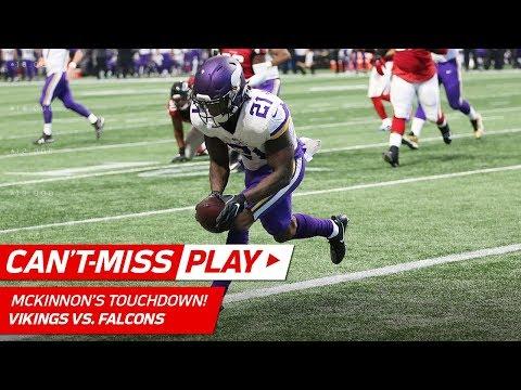 Video: Latavius Murray's BEAST Run Sets Up Jerick McKinnon's TD Catch! | Can't-Miss Play | NFL Wk 13