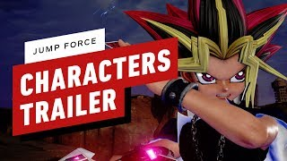 Jump Force - Full Character Roster Trailer by IGN