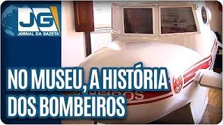 Um prédio histórico na Zona Sul de São Paulo é dedicado às memórias do corpo de bombeiros. O local já foi um quartel da corporação e agora guarda lembranças e curiosidades de quase 140 anos.