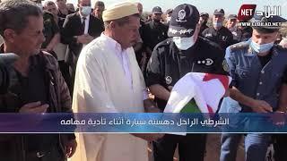 مستغانم : تشييع جنازة الشرطي الشهيد عبد الله بحار