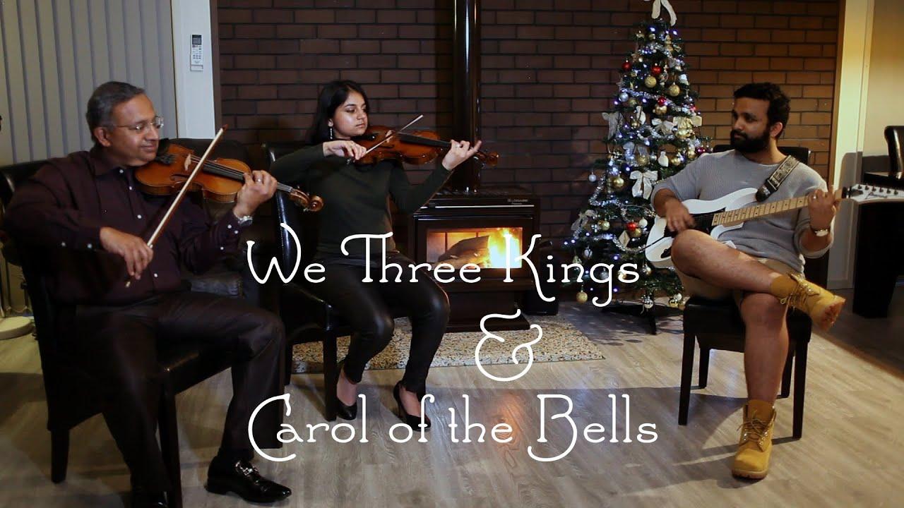 We Three Kings/Carol of the Bells Mashup – Electric Guitar & 2 Violins