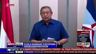 Video Pernyataan SBY Terkait Teror Bom Gereja di Surabaya MP3, 3GP, MP4, WEBM, AVI, FLV Agustus 2018