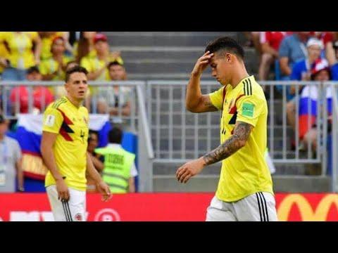 COLOMBIA - INGHILTERRA 0-0 - FINE 1° TEMPO