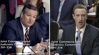 Video Ted Cruz makes Mark Zuckerberg Sweat During Congressional Testimony MP3, 3GP, MP4, WEBM, AVI, FLV Juli 2018