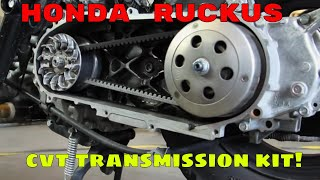 2. Honda Ruckus performance CVT transmission kit
