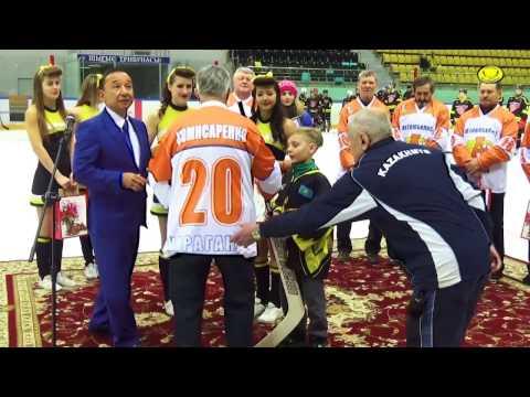 Празднование в честь 50-летия хоккея карагандинской области