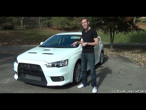 Review: 2013 Mitsubishi Lancer Evolution X GSR