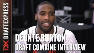 Deonte Burton Draft Combine Interview