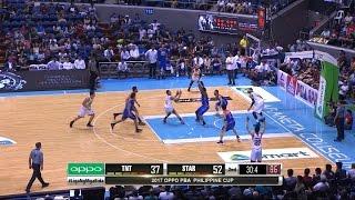 Jalalon Scores the Dipsy Doo Layup! | PBA Philippine Cup 2016 - 2017
